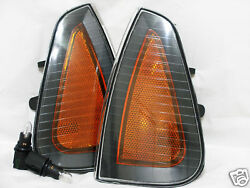 Front Side Turn Signal Parking Marker Light Lamps One Pair For 2006-2010 Charger