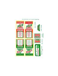 Superior Brand Toy Gas / Service Station Decal Set
