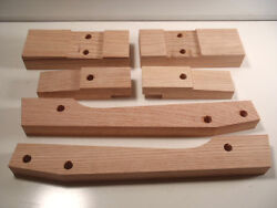 Ford Model A Roadster Body To Frame Wood Mounting Block Set 1928-1929