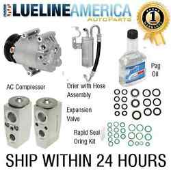 PLS SEND VEHICLE SPECS FOR COMPRESSOR KIT 105115 FIT 04-05 Impala Monte Carlo V6