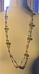 NECKLACE ARTDECO 19251930 GLASS-VINTAGE