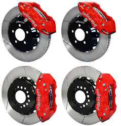 Wilwood Disc Brake Kit05-11 Dodge Charger300300c14 Rotorsred Calipers