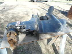 Merc Cruiser Lower Unit 1985 With Gimble Housing Hydraulic Pump And Both Shock