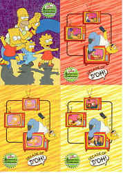 Inkworks 2000 The Simpsons 10th Anniversary Trading Card Base Set 81