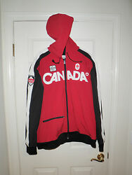 61 - Hudsons Bay Company Vancouver 2010 Winter Olympics Hooded Full Zip Top