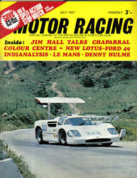 Motor Racing 07/1967 Le Mans Lotus Chaparral Formula Vee Beach Coventry Climax