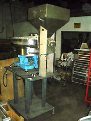 Syntron Vibratory Bowl Feeder With Stand - Excellent Condition - Stainless