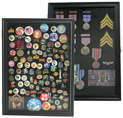 Wall Shadow Box Display Case For Lapel Sport Political Campaign Ads Pins