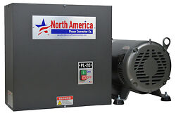 Pl-20 Pro-line 20hp Rotary Phase Converter - Built-in Starter Made In Usa