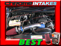 Kandn+blue Red 99-07 Chevy/gmc/cadillac Truck/suv 4.8/5.3/6.0/8.1 Cold Air Intake