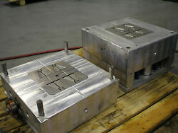Plastic Injection Mold- Rebar holders- 3 seperate molds- Multi-cavity