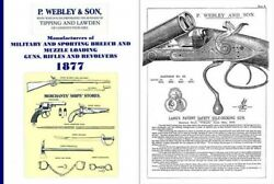 P Webley And Son 1877 Gun And Implement Catalog