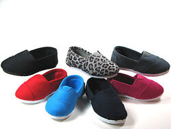 SlipOn Flats for Baby Toddler Girls or Boys Canvas Shoes Sizes 5 6 7 8 9 10 $12.95
