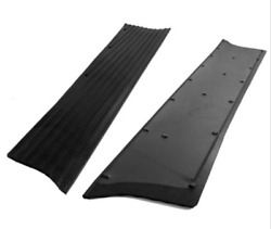 Chevrolet Chevy Running Board Mat / Cover Set Moulded Rubber Ns 1937-1938
