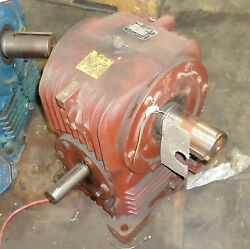 Ex-cell-o Corp. Cone Drive 301 Ratio 6.12hp Rated Gear Reducer Hu50-2 Option 56