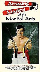 Amazing Masters Of The Martial Arts 1985 Vhs Karate Kung-fu Sonny Chiba Rare