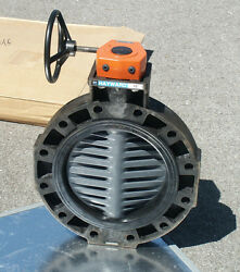 12 Inch Hayward By41120eg Butterfly Valve And Mastergear 98 Series Gearbox Nib