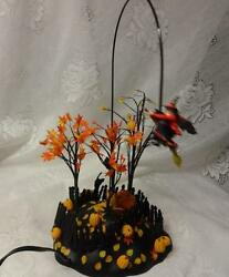 Department 56 Up Up And Away Witch Halloween Motion Animated Effects Display