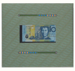 Australia 1993 Eminent Women First Federal Stamp And Banknote With Certificate