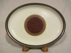 Denby Potters Wheel Red Rust 13 Serving Platter/tray