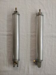 1957-1959 Plymouth Convertible Top Cylinder- New- Usa- 7 Year Warranty- Pair