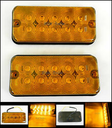 10 Diode Surface Mount Amber 10 Led Light Rv Trailer Truck Cargo Tractor