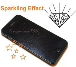 Diamond Sparkling Shimmer Glitter Clear Screen Protector Shield Iphone 5c 5s Se