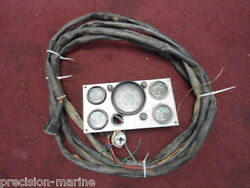 835971 Instrument Panel With 23and039 Harness Fit Volvo V8 Engines From The 70and039s.