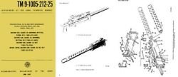 Browning 1969 M1919a4 M1919a6 M37 Technical Manual Tm 9-1005-212-25