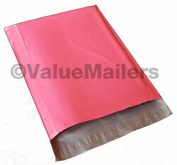 50 14x17 Pink Poly Mailers Shipping Envelopes Couture Boutique Quality PINK Bags $19.95