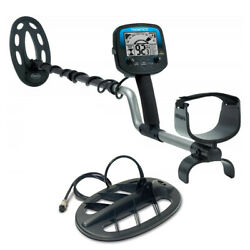 """Teknetics Omega 8500 Metal Detector With Waterproof 10"""" And 11 Coil Made In Usa"""