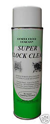 NEW Super Clock Cleaning Spray SOL 90