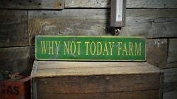 Custom Farm Name Sign - Rustic Hand Made Vintage Wooden Sign