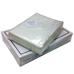 Clear Food Plastic Polythene Use Freezer Storage Bags - Various Sizes And Qtys
