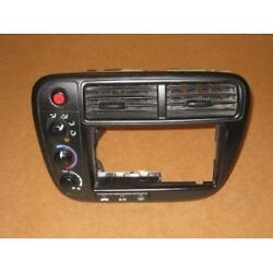 1999-2000 HONDA CIVIC DASH  RADIO BEZEL WITH CLIMATE CONTROL USED OEM TESTED
