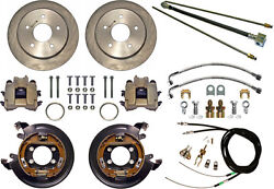 Currie Disc Brake Kitlines And Cablerear Parkingbig Ford New115x5explorer