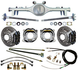 Currie 68-72 Gm A-body Rear End And Wilwood Disc Brakeslinese-brake Cablesaxles