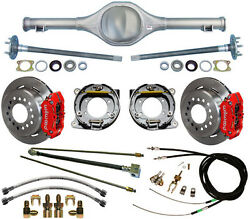 Currie Rear End And Wilwood Disc Brakesredlinese-cables Fits 86-92 Mj Comanche