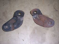 1951 1952 Cadillac Exterior Front Bumper Grille Mounting Brackets Miscellanious