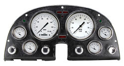 Classic Instruments White Hot Series 1963-67 Corvette Direct Fit Gauge Cluster