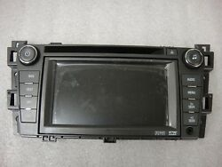 2007-2011 Cadillac Dts Oem Gps Navigation System Faceplate Lcd Oem New