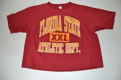 Florida State Athletic Dept Vintage Xxl Red T Shirt Womens One Size Fits Most