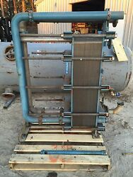 Stainless Steel Plate Heat Exchanger 101 Plates / 4ft Tall