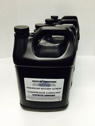 144046-055 Quincy 8000 Hour 1 Gal 4 Pack Synthetic Rotary Air Compressor Oil