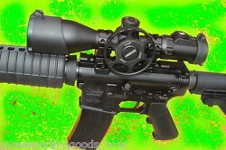 4-16x44 Compact Rifle Scope Utg Leapers 36 Color Reticle With Swat Wheel