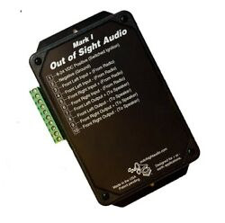 Out Of Sight Audio - Mark 1 - Secret Audio Device - Amplified Bluetooth Receiver