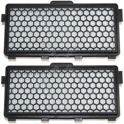 2 x Miele Sf-aac50 Anti Allergy Hepa Filter/Active Air Clean Carbon Filter