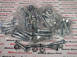 8627 Lot Of 50 Mtd Snow Blower 710-0890,910-0890a,712-0158 Shear Pins And Nuts