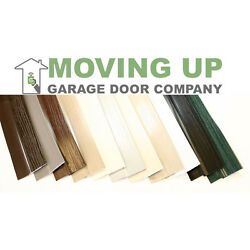 Double Car Garage Door Stop Sides And Top 2 Inch Weather Seal Any Size All Color
