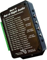 Out Of Sight Audio - Mark 3 - Hidden Audio Device - Motorcycle / Trike Radio